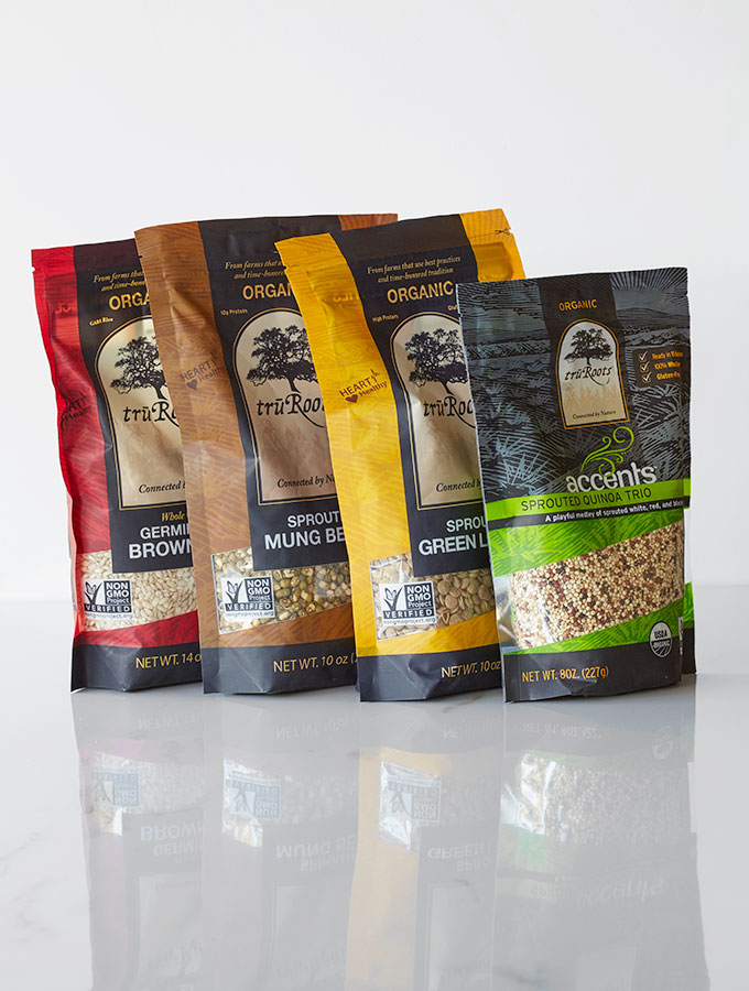 Life Gets Easier with truRoots Sprouted Legumes & Grains